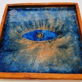 Πιατέλα στόνγουερ τετράγωνη  23 Χ 23 cm