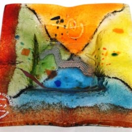 Ashtray COLORFUL14 x 14 cm